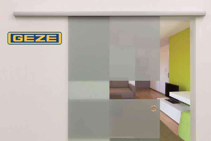 the new geze levolan 60 sliding door system. Black Bedroom Furniture Sets. Home Design Ideas