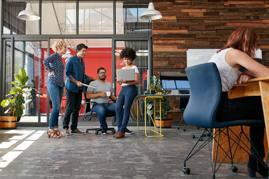 The Office Of The Future Is Being 'Reimagined'