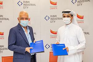 The Region's Largest Carpet Factory Expands in Dubai Industrial City