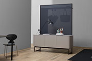 The Sideview collection - The storage unit becomes a partition
