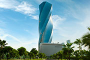Thyssenkrupp equips iconic United Tower in Bahrain with Elevators and Escalators