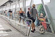 Thyssenkrupp Installs Australias First Iwalks At Perth And Melbourne Airports