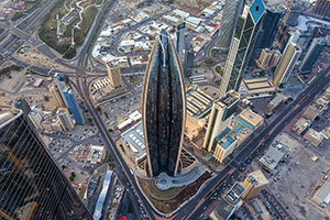 Thyssenkrupp Installs Unique TWIN Elevator Systems at National Bank of Kuwait's Iconic Head Office