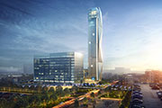 Thyssenkrupp with new elevator high-rise test tower and innovation complex