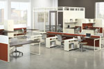 Top international brands in office furniture and design confirm their participation at The Office Exhibition 2011.
