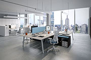 Vista Essence, new office furniture collection