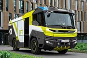 Volvo Penta to develop electric driveline for Rosenbauer fire truck