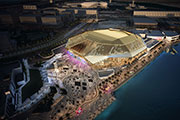 'Yas Bay Arena' Wins the Sustainable Building Design of the Year